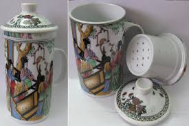 لیوان چای سبز سرامیکی