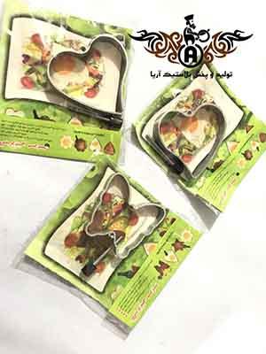 فروش انواع قالب برش کیک استیل