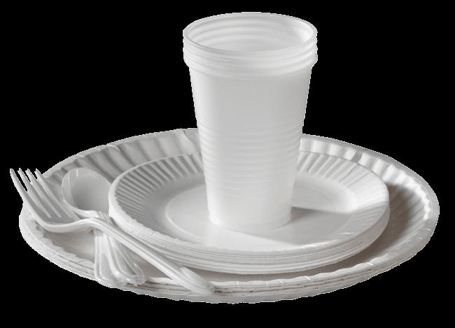 فروش انواع ظروف یکبار مصرف - پخش پلاستیک آریا