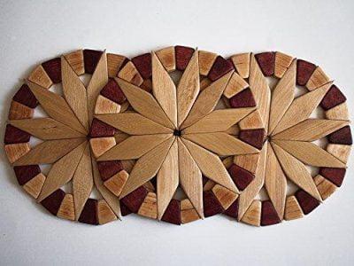 زیر قابلمه ای چوبی فروش در پخش پلاستیک آریا