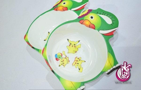 فروش ظروف ملامین کودک به صورت خرده