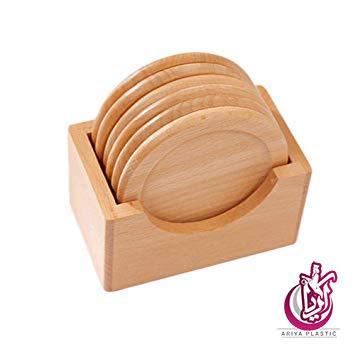 فروش زیر لیوانی چوبی