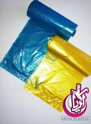فروش عمده کیسه زباله رولی کفشدوزک