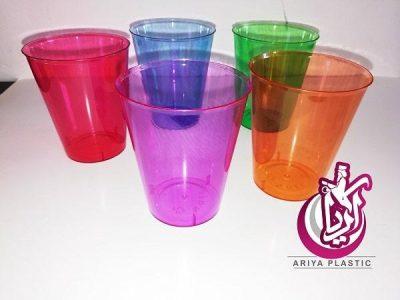 فروش لیوان یکبار مصرف رنگی