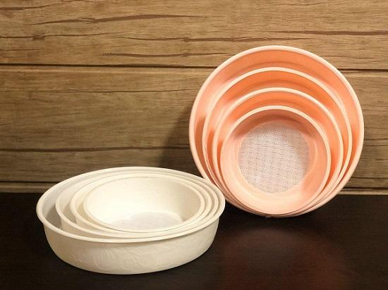 پخش پلاستیک آریا - اجناس لوکس - فروش الک تمام پلاستیکی 4 سایز
