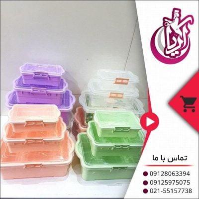 فروش ظروف فریزری اندیشه رنگی