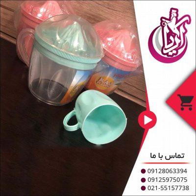 فروش آبمیوه گیر لیوان دار پریا رنگی