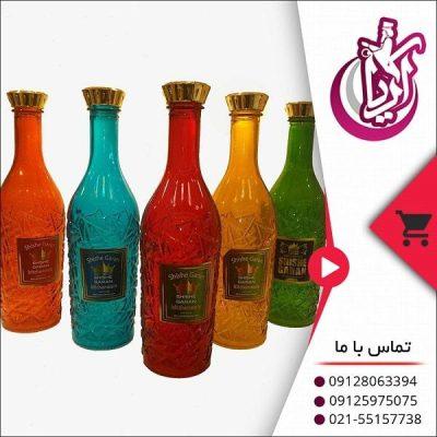 فروش بطری درسا رنگی شیشه گران