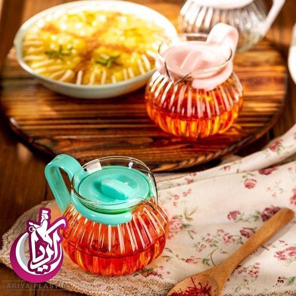 فروش عمده قوری زعفران سورن