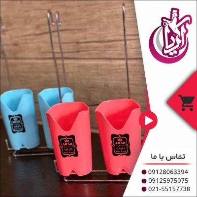 فروش جا قاشقی دو قلو آراد-تصویر اصلی آریا