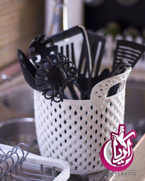 فروش سبد طرح دار تاپ پلاست - تصویر اصلی آریا