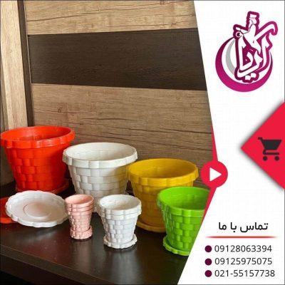 فروش گلدان دایره ای عرشیا - تصویر صفحه آریا