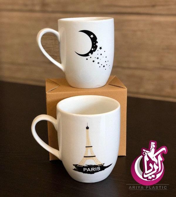 فروش لیوان سرامیکی طرح دار - تصویر اصلی آریا