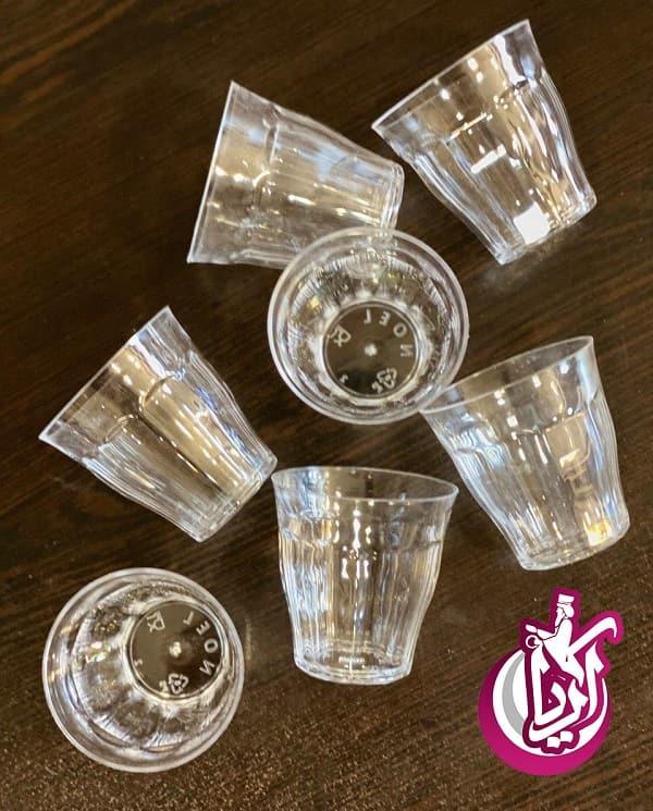فروش لیوان شات کریستال یکبار مصرف - تصویر اصلی آریا