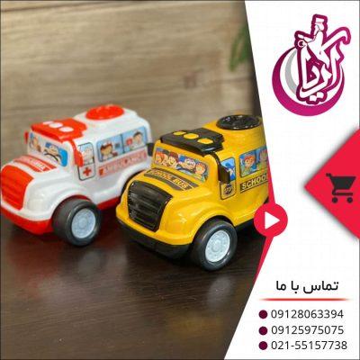 اتوبوس و آمبولانس اسباب بازی - فروش عمده