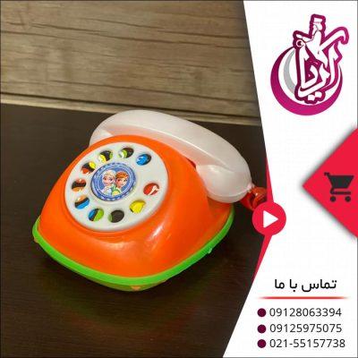 اسباب بازی تلفن قلکی - فروش عمده