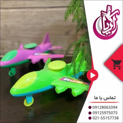 اسباب بازی هواپیما مهتاب در رنگ بندی های متنوع