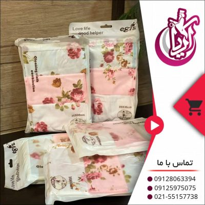 فروش دستمال گلدار انگلیش هوم - پخش پلاستیک آریا