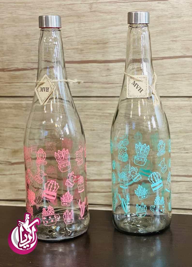 بطری آب چاپ دار در کیفیت عالی