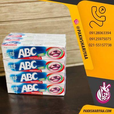 خمیر دندان ABC با کیفیت عالی