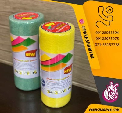 فروش دستمال تنظیف رولی تندیسن - پخش پلاستیک آریا